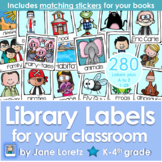Library Labels for your Classroom