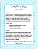 Library Media Center - Book Care Bingo