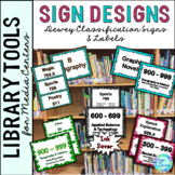 Library Signage for the Elementary Library..... 5 Differen