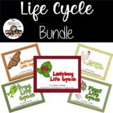 Life Cycle Bundle: frog, plant, butterfly, ladybug and chicken
