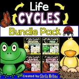 Life Cycles BUNDLE PACK (Butterfly, Frog, Chicken)