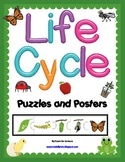 Life Cycles Puzzles and Posters {9 LIFE CYCLES!}
