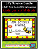 Life Science Bundle: 6 Emergent Reader Sight Word Books/Wr