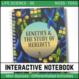 Life Science Interactive Notebook - Genetics: The Study of