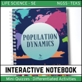 Life Science Interactive Notebook - Population Dynamics
