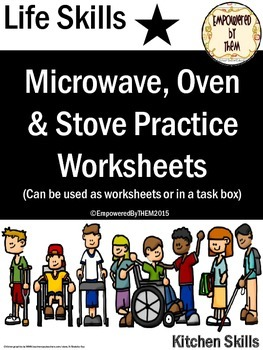 Life Skills - Microwave, Oven & Stove Practice Sheets