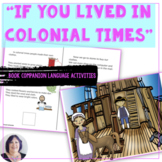 Life in Colonial Times adapted informational book