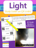 Light Study Guide with QR Codes {Foldable with Links to La