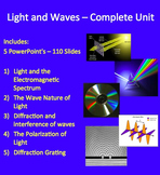 Light and Waves Complete Unit - PowerPoint Lessons, Worksh