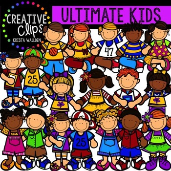 Limited Edition: Ultimate KIDS Collection {Creative Clips Digital Clipart}