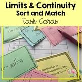Calculus: (Unit 1) Limits & Continuity Sort & Match Activity