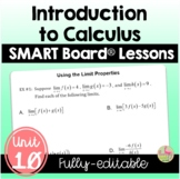 Limits and Motion Unit: SMARTNOTES LESSONS ONLY