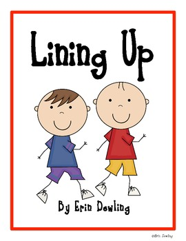 """Lining Up"" Social Story"