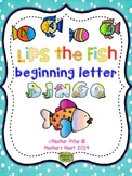 Lips the Fish: beginning letter bingo