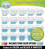 Liquid Measuring Cup Clipart — Over 75 Bright Graphics!