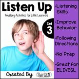 Listening Activities for Common Core~ Listen Up 3