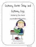 Listening Center Setup and Listening Center Response Logs