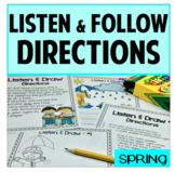 Listening Skills SPRING Behavior and Classroom Management