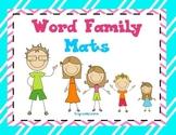 Lit. Station Word Family Mats