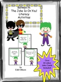 Literacy Activities Batman with Joker Joke Cards