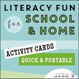 Literacy Activity Cards