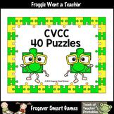 Literacy Center--CVCC Puzzles (40 two piece puzzles)