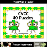 Literacy Center--CVCC Puzzles (40 two piece puzzles)