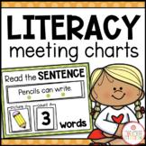 Literacy Circle Time Charts {GROWING MEGA-BUNDLE}