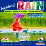 Literacy & Math SPRING Pack - Rain, Flowers & Ladybugs -Grade K-1