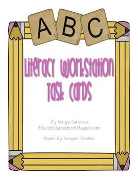 Literacy Workstation Task Cards