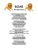 """Literary Device Identification based on the song """"ROAR"""""""