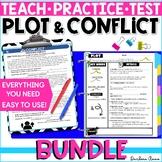 Plot: Teach, Practice, Test