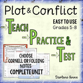 Plot: Teach, Practice, Test