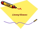 Literary Elements PowerPoint