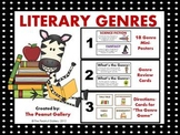 Literary Genres (Posters, Review Cards & Genre Game Pack)