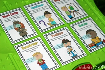Literature Circles / Guided Reading Role Cards