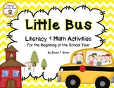 Little Bus Literacy and Math Unit