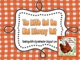 Little Red Hen Mini Literacy Unit