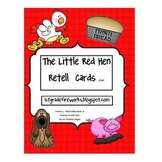 Little Red Hen Retell Cards