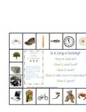 Living and Nonliving Game Board