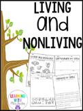 Living and Nonliving - Germinating Seeds - Freebie