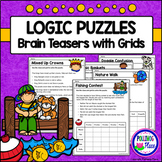 Logic Puzzles - Brain Teaser Puzzles with Grids - Set 2