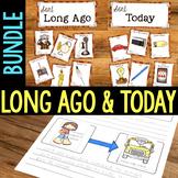 Long Ago & Now {Social Studies Unit}