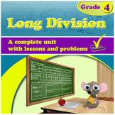 Long Division - grade 4, common core