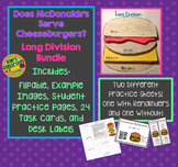 Long Division - Does McDonalds Serve CheeseBurgers? math n
