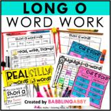 Long O Word Work Activities