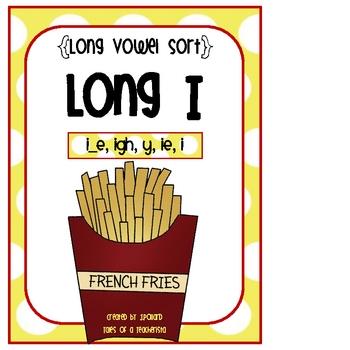 Long Vowel Word Sort {Long I}