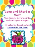 Long and Short A Sort {word work}