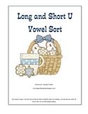 Long and Short U Word  Sort