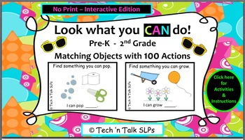 #AprilSLPMustHave:  Look What You CAN Do (interactive no print version)